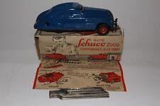 Schuco 1950's Kommando Sedan Model 2000, with Box, Original, Blue