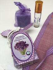Sleep Remedy Help Gift Set Perfume Body Scrub Lavender Soap Oil Block Moroccan