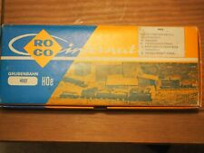 ROCO HOe Nr 4002 Steam Starter Set with 4 Wagons