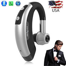 Bluetooth Headset Wireless Earpiece Noise Reduction Mic for iPhone X 7