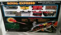 Trainmaster Royal Express Wireless Remote Control Battery Operated Train Set