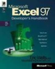 Microsoft Excel Developer's Handbook, Wells, Eric, Very Good Book