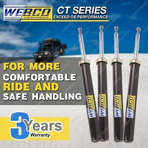 Front + Rear Webco Pro Shock Absorbers for TOYOTA CAMRY SV20 SV21 SV22 4 cyl