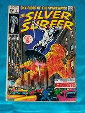 Silver Surfer # 8, Sept. 1969, Stan Lee & John Buscema, Very Good Condition