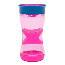 Toddler Sippy Cup Magic 360 Ultra Grip Training Milk Cups 13 Ounce For Kids Pink