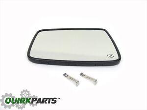 10-17 DODGE RAM 1500 RAM 2500 LEFT DRIVERS SIDE EXTERIOR MIRROR GLASS NEW MOPAR
