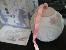 Vintage Lladro Holiday Ball Year 1996 Pink 3 Angels and Jesus w/ Original Box