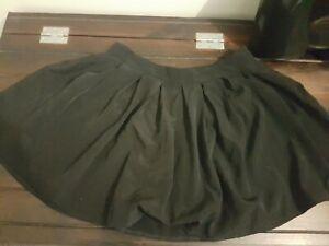 Supre Mini Skirt Frilly Black Size Medium