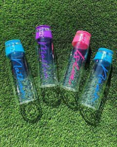 Personalised Infuser Water Bottle Drink Kids Adults School Dance Boys Girls
