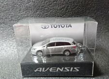 Toyota Avensis Led Light Keychain Silver Metallic Pull Back Model Car