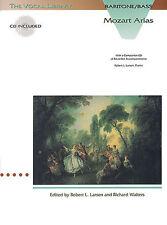 Mozart Arias Baritone Bass Learn to Sing Choir Vocal Piano SHEET Music Book