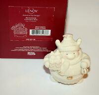 Lenox Reindeer Covered Box Christmas Spirit Lenox Figure $21 New Box