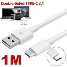 1M USB-C USB 3.1 Type C Type-C Data Charge Charging Cable for Oneplus Mac Lenovo