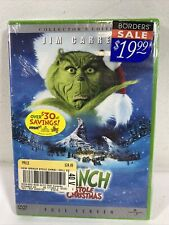 How the Grinch Stole Christmas (Dvd, 2001, Full Frame) Jim Carey New Sealed B5