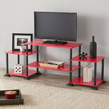 TV Media Stand 3-Cube Entertainment Center No-Tool Assembly For TVs up to 40'