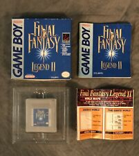 Final Fantasy Legend Ii - Nintendo Game Boy - Tested - With Box and Paperwork