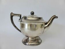 Vintage Silver Plated 2 Cup Teapot, A1 EPNS Tea Pot, 1930s Art Deco Tea Pot