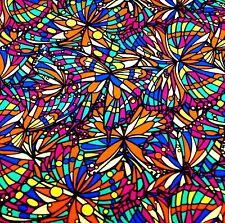 Liberty Belgravia Silk Satin fabric  Bright Jewel