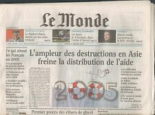 ▬► JOURNAL DE NAISSANCE / ANNIVERSAIRE Le Monde du 22 et 23 Septembre 2002