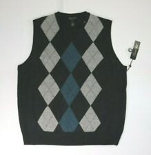 GARRET SCOTT Men's Size XXL Sleeveless Wool Vest Sweater