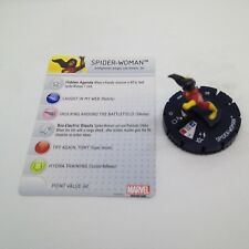 Heroclix Civil War OP set Spider-Woman #009 Common figure w/card!