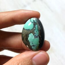 27 Carats Natural Nevada Ribbon Variscite Cabochon