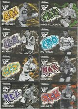 2020 Nrl Traders Street Art Black FULL SET 16 Cards