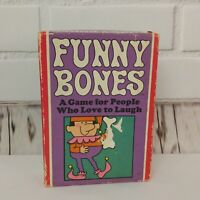 Vintage Funny Bones Card Game Parker Bros Complete Set 1968 USA Party Fun
