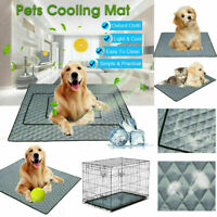 Pet Cooling Mat Non-Toxic Cool Gel Pad Cooling Pet Bed for Summer Dog Cat P Z6G1