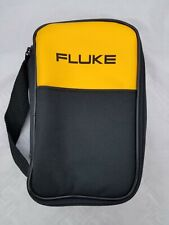 "FLUKE SOFT CARRYING CASE/ POUCH NEW ,8""-5""-2"", FREE SET OF TEST LEADS !!"