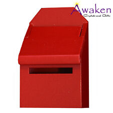 Magical FAIRY MAILBOX 7cm Red REALISTIC TIMBER 4 TOOTH FAIRY