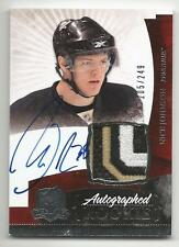 10-11 Nick Johnson The Cup Auto Rookie Card RC #135 Sweet Jersey Patch 205/249