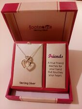 Footnotes Sterling silver Necklace Friends