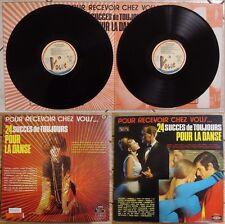 24 SUCCÈS DE TOUJOURS POUR LA DANSE-2xLP-SIDNEY BECHET-CLAUDE LUTER-AIMABLE…1971