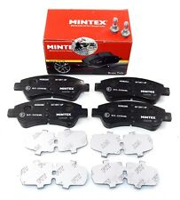 MINTEX FRONT AXLE BRAKE PADS FOR PEUGEOT DS CITROEN MDB2283 (REAL IMAGE OF PART)
