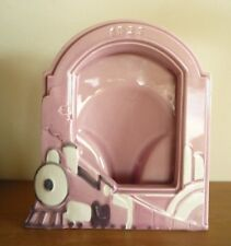 Art Deco style Dusky Pink Photo / Picture Frame Steam Train Design 1925