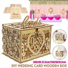 JM01192 Wedding Decor Card Post Wooden Box Collection Gift Card Boxe