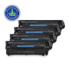 4PK Q2612A 12A BK Toner Cartridge For HP LaserJet 1012 1015 1018 1020 1022 3015