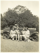 Automobile. Family 1930's. Germany? Allemagne? Photo snapshot vintage G662