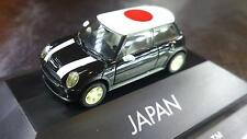 * Herpa Cars 101493 Limited Edition Mini Cooper S Japan Roof Flag PC Box 1:87 HO