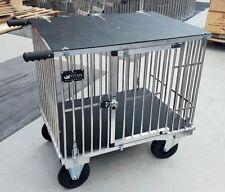 """TITAN mostrar Perro Grande 1 Litera De Aluminio Trolley ruedas todo terreno con 8"""""""