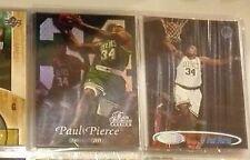 Paul Pierce Rookie cards (LOT 2 cards)