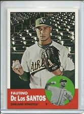 2012 Topps Heritage SP #452 Fautino De Los Santos Card Athletics