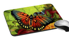 """Butterfly Mouse Pad Anti Skid Rubber Pad Mat Mice MousePad 7.2x8 """""""