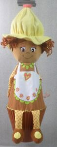 Little Miss Muffin Surprise Soft Pull Up Doll - Stuffed Plush Toy - 56cm