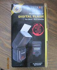 New Zeikos Professional AF Digital Flash for DSLR/SLR Cameras
