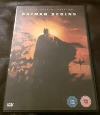 Batman Begins (DVD, 2005, 2-Disc Set) Special Edition Christian Bale Caine Nolan
