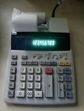 New ListingSharp El-1801Piii Printing Calculator Electronic Adding Machine 12 Digit 2 Color