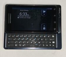 Motorola Droid 2 Global A956 - Black ( Verizon & GSM ) Full Keyboard- Works