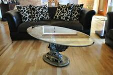 Design Medusa Coffee Table Glass Table Table Side Tables Couch Classic 42cm